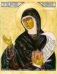 Hildegard of Bingen portrait