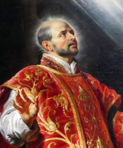 Ignatius of Loyola portrait