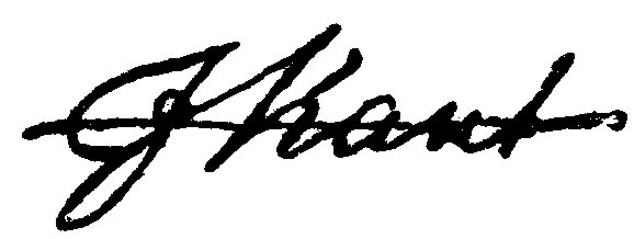 Signature of Immanuel Kant