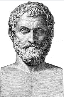 Thales of Miletus portrait
