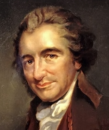 thomas paine biography Thomas paine was an englishman who came to the colonies after meeting ben   george romney on the right which appeared in conway's biography of paine.