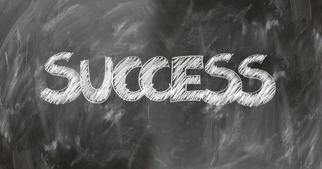 success written on a chalkboard