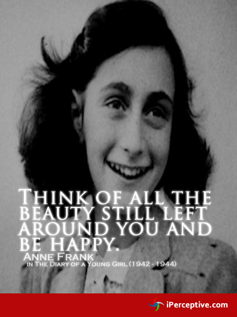 Anne frank quote in her diary