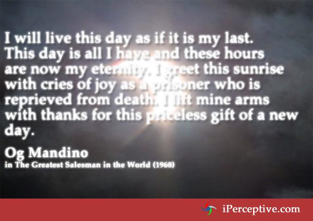 Og Mandino Quotes Iperceptive