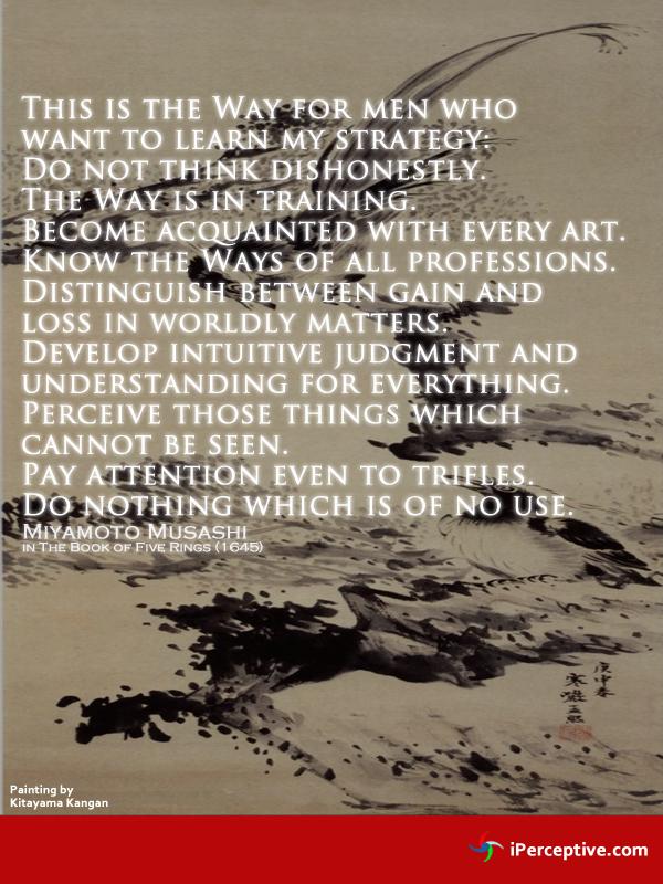 Miyamoto Musashi Quotes Iperceptive