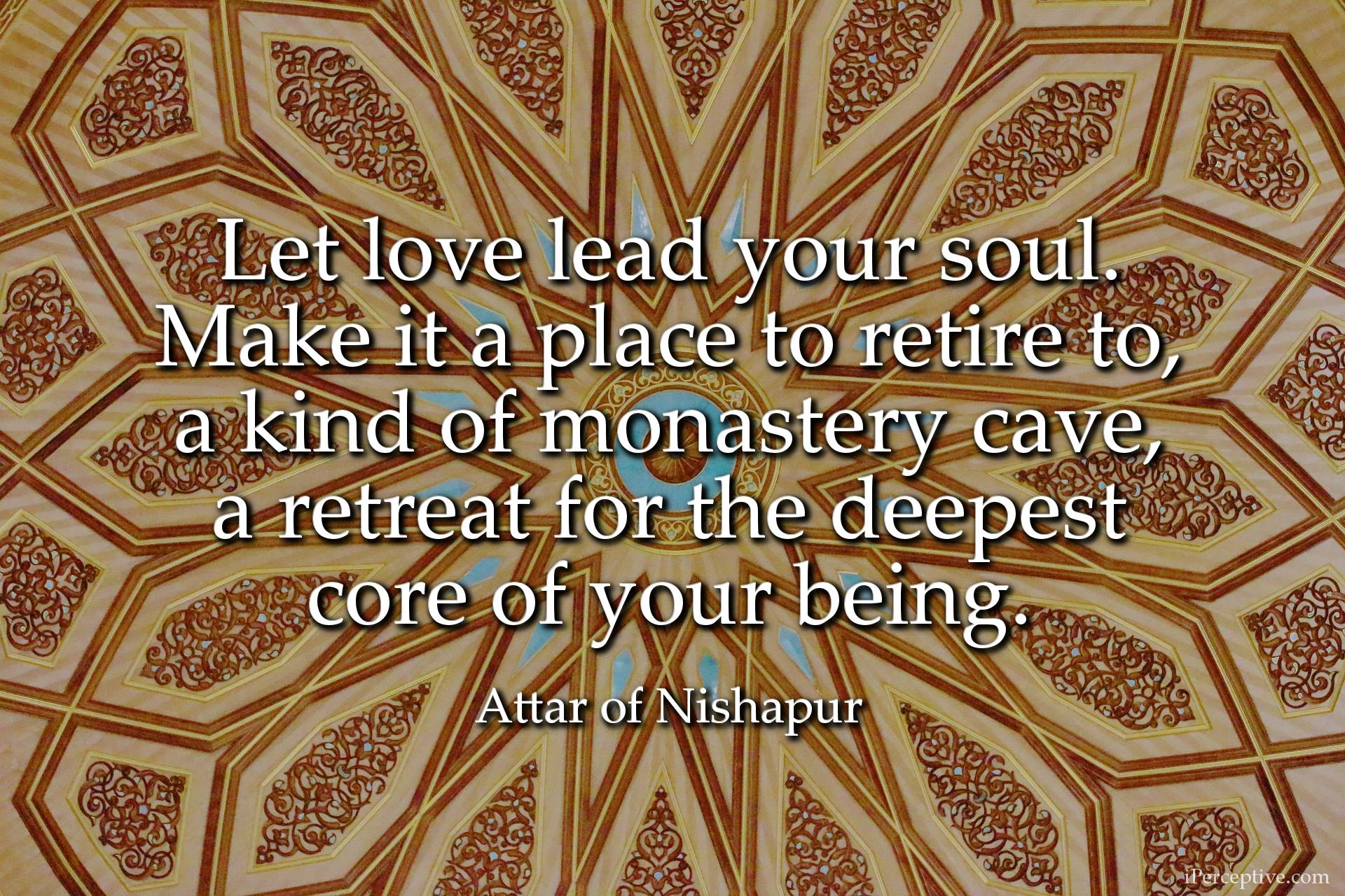 Attar Sufi Mystic Quote