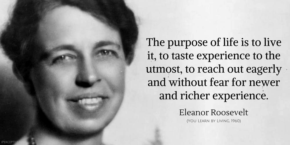 Eleanor Roosevelt Quotes Iperceptive