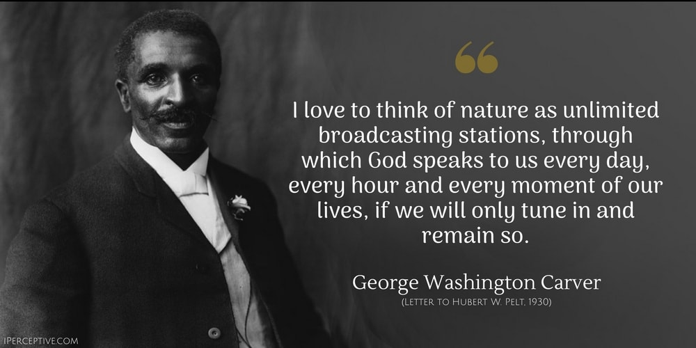Unlock The Door >> George Washington Carver Quotes - iPerceptive