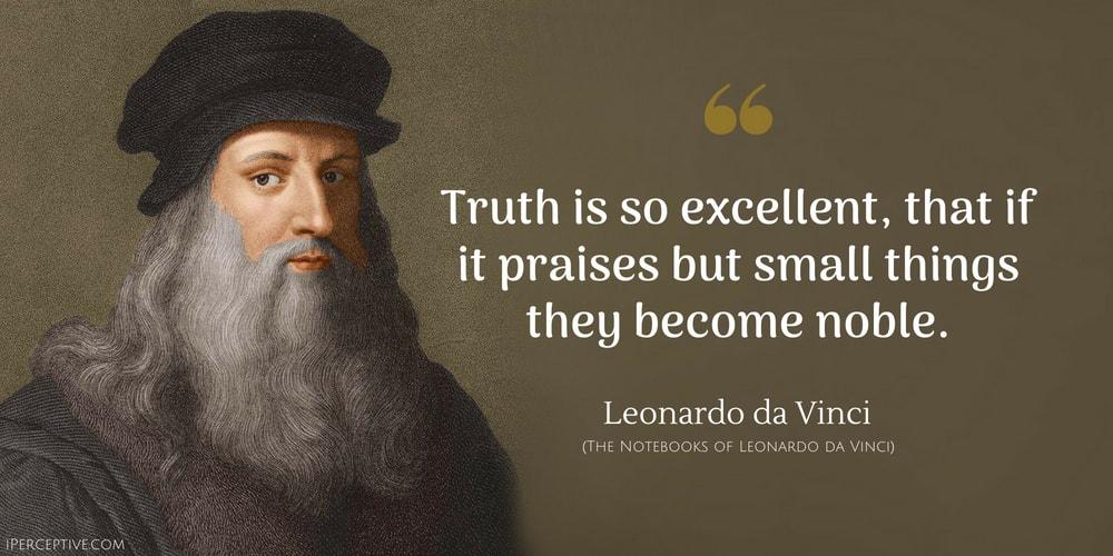 Leonardo Da Vinci Quotes IPerceptive Delectable Da Vinci Quotes