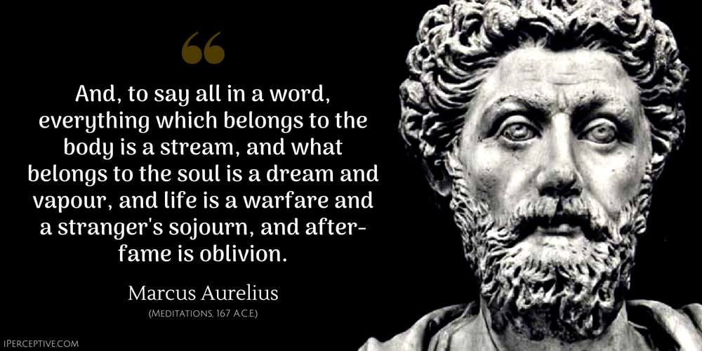 Marcus Aurelius Quotes Classy Marcus Aurelius Quotes Excerpts From The Meditations IPerceptive