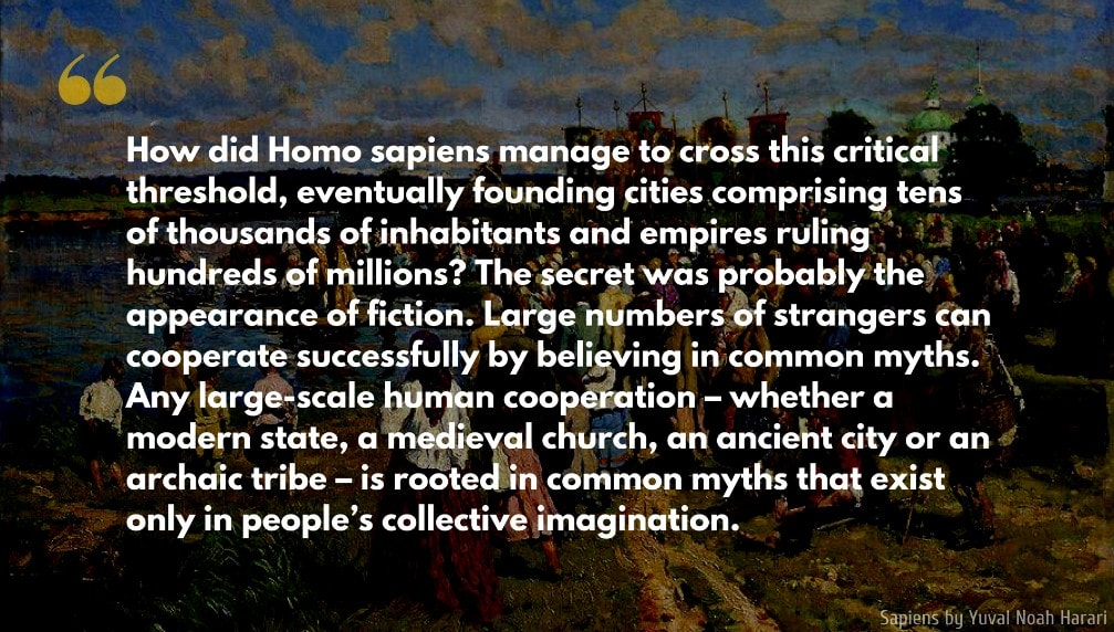 Yuval Noah Harari Quote: How did Homo sapiens manage to cross this critical threshold, eventually founding cities comprising tens of thousands of inhabitants and empires ruling hundreds of millions?...